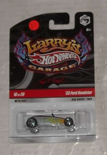 2008 Mattel Hot Wheels Larrys Garage Series 33 Ford Roadster Diecast