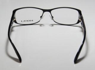 New Koali 7055K 52 14 125 Black Full Rim Ophthalmic Eyeglasses Glasses