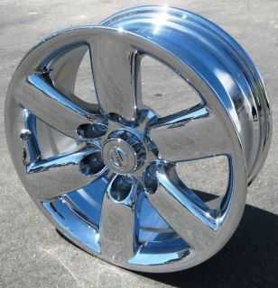 Stock 4 New 18 Factory Nissan Armada Titan Chrome Wheels Rims