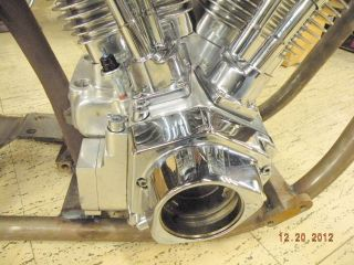 127 Ultima Motor Engine EVO Polished Harley Chopper Bobber Big Twin