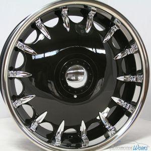 20 Fusion Black Wheels Rims inch Mercedes Audi s CLS