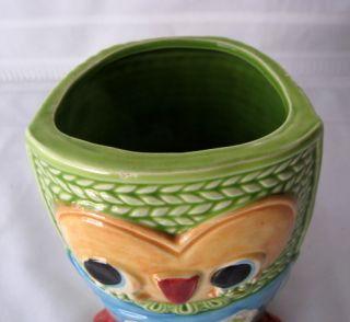 Owl Rubens Original Ceramic Bright Pop Art Retro Planter Vase Catch