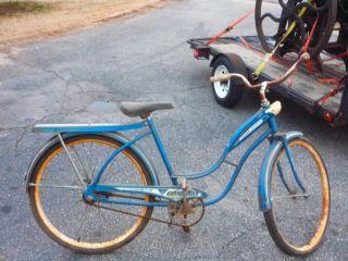 Ladies 1958 AMF Skyrider Deluxe Roadmaster Bicycle Bike