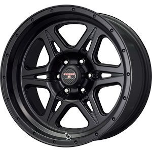 New 16x8 5 6x139 7 Level 8 Strike 6 Black Wheel Rim