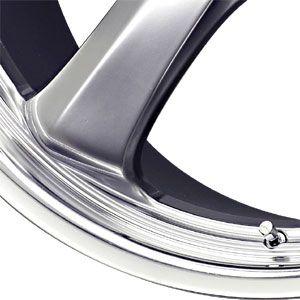 New 19X9.5 5 130 Turismo Hyper Silver Machined Wheel/Rim