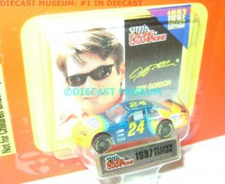 Jeff Gordon 24 Du Pont 1 144 Racing Champions RARE