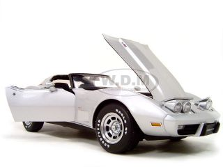 1978 Chevrolet Corvette 1 18 Autoart Diecast Model