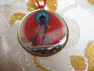 Healing Beloved Medicine Buddha Kalachakra Tibetan Buddhist Pendant