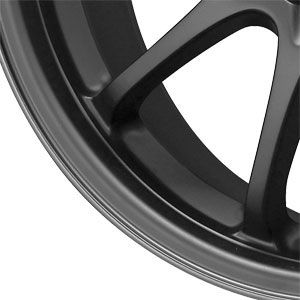 New 17x7 5x100 5x114 3 Drag Dr 9 Black Wheels Rims
