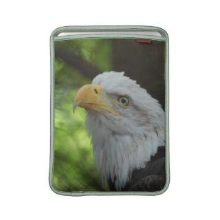 American Bald Eagle 13 macBook Sleeve