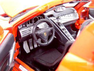 Porsche Carrera GT Red 1 18 Scale Diecast Model