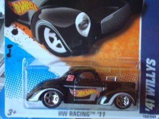 Hot Wheels 2011 HW Racing Series 41 Willys Black New 152