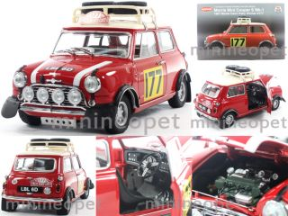 MORRIS MINI COOPER S MK 1 1967 MONTE CARLO RALLY WINNER 1/18 #177