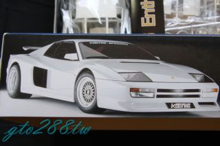 FUJIMI 1/16 Enthusiast Model  Koenig Specials(from Ferrari Testarossa