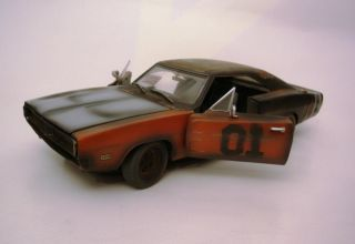 General Lee Project Car Dukes of Hazzard 1969 Charger Weathered Parts