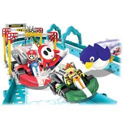 New Nintendo Mario and Bowsers Ice Race Building Set