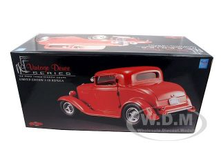 Brand new 118 scale diecast car model of 1932 Ford Three Window Coupe