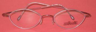 Silhouette 6540 Titanium Eyeglass Frames Light Pink