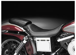 Le Pera Bare Bones Solo Sea   Biker Gel   Leaher LKG 007LRS Harley