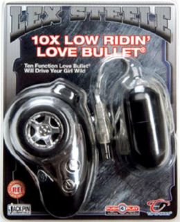 Lex Steele Powerful 10 Speed Bullet Waterproof Vibe Vibrator
