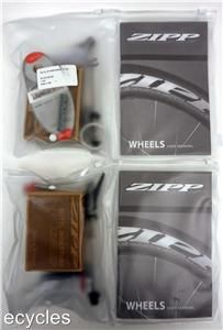 New 2013 Zipp Firecrest 404 Carbon Clincher Wheelset White Logos