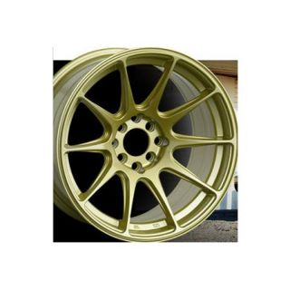 XXR 527 18 18x8 75 20 Gold Wheels Rims Pair New