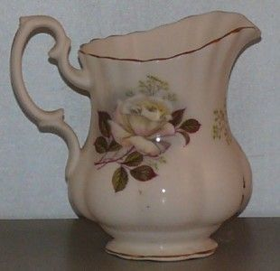 Royal Albert Bone China Creamer Tea Rose White Mini