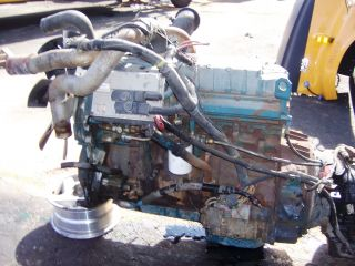 1998 International DT466 Diesel Engine Complete DT466E
