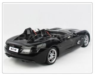 12 Black Mercedes Benz SLR Z199 Remote Control Car RTR