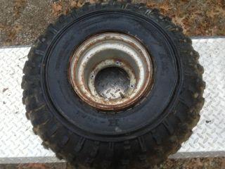 ATC Honda 200M 200E 200ES Front Wheel Rim Tire Pro Am H Trak 25 x 12 9