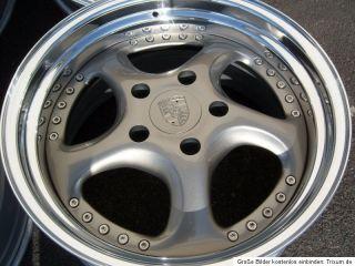 For Porsche 993 Narrow Body 18x10 8 5 3 Piece Split Rims