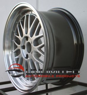 18 Varrstoen ES1 Style Hyper Black Wheels Rims Fit Nissan 300zx 240sx