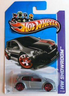 Hot Wheels 2013 177 HW Showroom Volkswagen Golf GTI Mint on Card