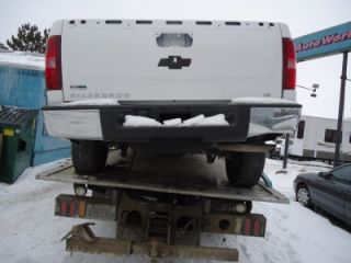 2010 Silverado Sierra 1500 Rear Bumper Chrome