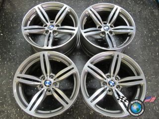 06 10 BMW M6 M5 Factory 19 Wheels Rims OEM 59544 59546 style# 167