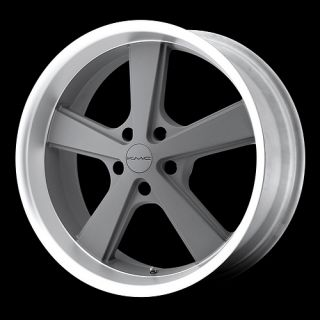 KMC Nova Grey Wheels 20 Chevy Truck Ford Chevy