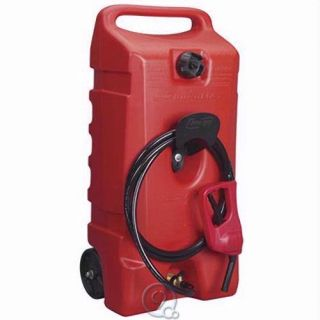 Duramax 14 Gallon Portable Gas Pump Flo N Go Fuel Tank Only