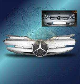 98 04 Mercedes Benz W170 R170 SLK Class AMG Style Matt Silver Chrome
