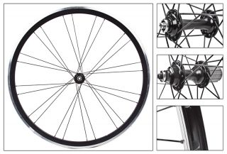 Wheel Master MACH1 Versus Wheel Set Black 700c 24H 8 9 Speed QR