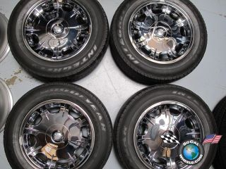 Chrysler 300 300C Factory 17 Chrome Clad Wheels Tires OEM Rims 2243