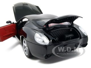 Ferrari 575 GTZ Zagato Black 1 18 Diecast Car Model