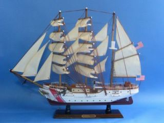 USCG Eagle 21 Scale Coast Guard Wooden SHIP Model