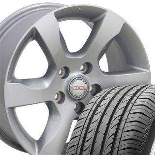 Silver Altima Wheels Set of 4 OEM 62479 Rims Tires Fit Nissan Infiniti