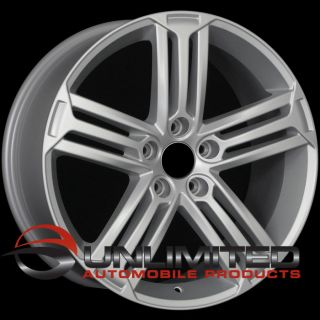 18 VW Golf R Style Matte Silver Wheels Rims Fit Audi A3 A6 C6 TT MKII