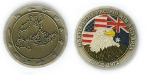 Serving The Pacific Rim and Asia Since 1972 Challenge Coin