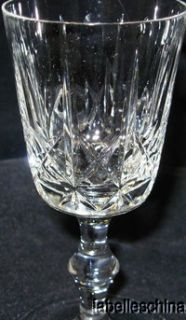 Edinburgh Crystal Cross Olive 5 Wine Glass Unsigned