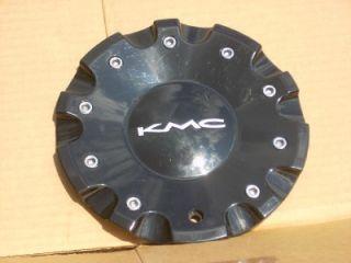 KMC Alloy Wheel Black Center Cap 1086L185 HT 031