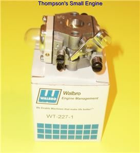 Walbro Carburetor WT 227 Fits Stihl 4226 Hedge Trimmer 4133FS and 4226