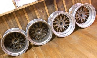 Work Rezax 18 9 5J 11J Alloy Wheels Rims VIP Deep Dish