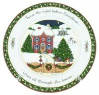 International China A Christmas Story Dinner Plate Susan Winget House